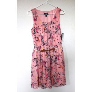 By&By Floral Summer Mini Dress